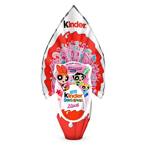 UOVO DI PASQUA KINDER POWER PUFF CON FAVOLOSA SORPRESA