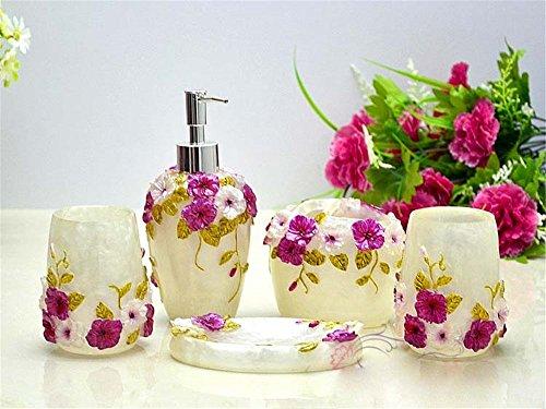 MIAORUI résine crafts, salle de bains / bain suite, garden tricolore