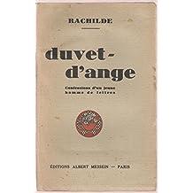Duvet-d'ange (Confessions d'un jeune homme de lettres)