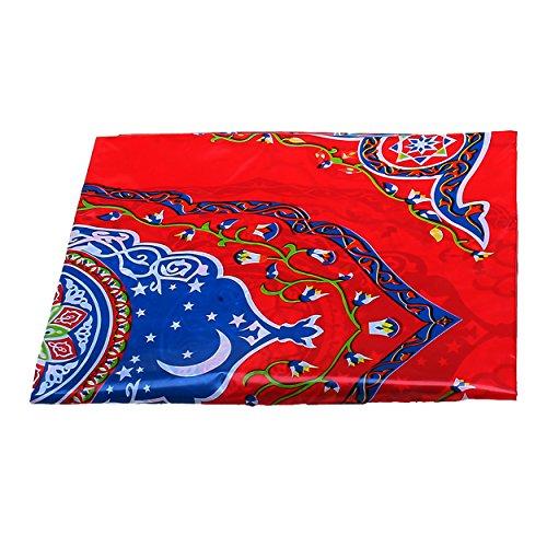 Ornate Red Floral Tableware - Pl...