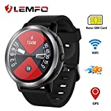 OVIO LEMFO LEM8 Smart Watch,2GB + 16GB,Android 7.1.1 4G LTE, 2 MP Camera