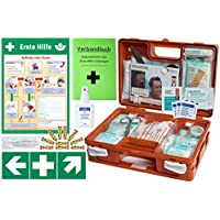 Erste-Hilfe-Koffer KITA M1 -Komplettpaket- nach DIN/EN 13157 für Betriebe + DIN/EN 13164 für KFZ inkl. 1.Hilfe... preisvergleich bei billige-tabletten.eu