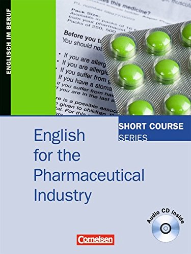 Short Course Series - English for Special Purposes / B1/B2 - English for the Pharmaceutical Industry, 2. Dr.