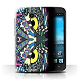 Stuff4 Phone Case/Cover for Huawei Ascend Y600 / Owl-Colour