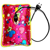 DreamKraft 'Elanor' Electric Plastic Rechargeable Heating Gel Bottle Pouch Massager for Body Pain Relief,Medium(Multicolour,PC-HPGL_Elanor)