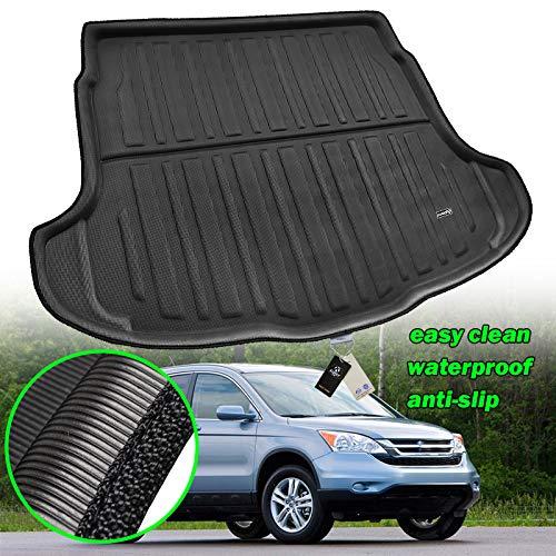 XUKEY Kofferraumwanne für CR-V CRV 2007 2008 2009 2010 2011 Maßgeschneiderte Kofferraumwanne Kofferraumwanne Bodenmatte Matte Teppich Kofferraumwanne Wasserdicht (Crv Teppich)