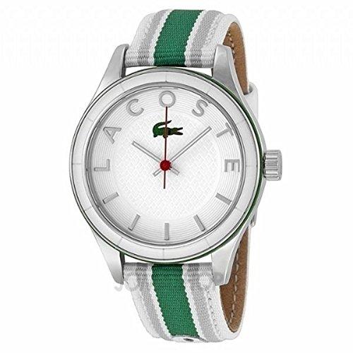 Lacoste 2000769 Women's Sydney White Dial Canvas Strap Watch