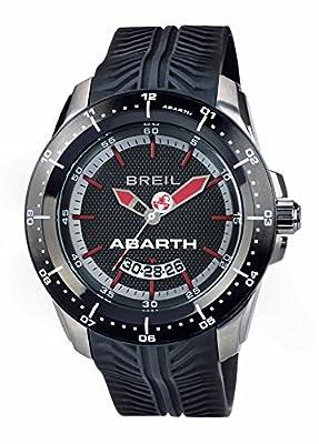 Breil Reloj Analogico para Hombre de Cuarzo con Correa en Silicona TW1486 de Breil