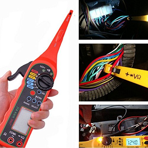 Tutoy 0-380V Multifunktions-Auto-Circuit-Tester Multimeter-Lampe Auto-Reparatur-Tool Automotive Multimeter -