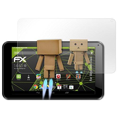 atFolix Bildschirmfolie kompatibel mit Odys Intellitab Spiegelfolie, Spiegeleffekt FX Schutzfolie