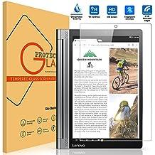 VIFLYKOO Lenovo Yoga Tab 3 Plus Protector de Pantalla, Lenovo Yoga Tab 3 Plus Cristal Templado Vidrio Templado 9H Dureza Shatterproof Tempered Glass Screen Protector para Lenovo Yoga Tab 3 Plus Tablet
