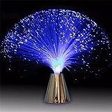 Schöne romantische MultiColor Changing LED Fiber Optic Nachtlicht Lampe Urlaub Hochzeit Dekor kleine Nachtlicht Changlesu