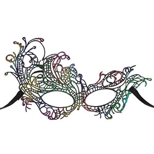 HLHN Sexy Catwoman Mask Masquerade Ball for Halloween Christmas Carnivals Mardi Cosplay Party Prom Fashion Shows Wedding Night Club