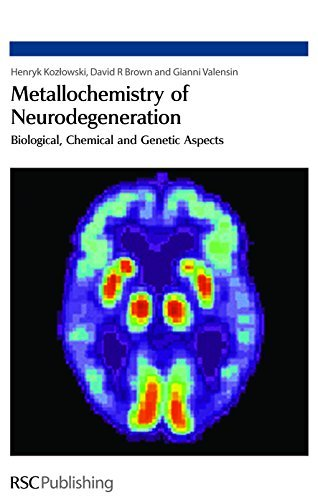 Metallochemistry of Neurodegeneration: Biological, Chemical and Genetic Aspects by Henryk Kozlowski (2006-10-05)
