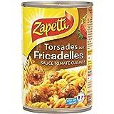 Zapetti Torsades aux Fricadelles Sauce Tomate Cuisinée 400 g