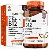 Vitamin B12 1000 mcg Methylcobalamin Pearls by Nutravita | 180 easy to swallow B12 Pearls from Nutravita