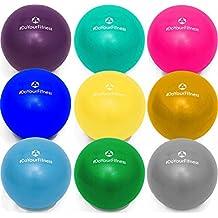Mini pelota de pilates »Balle« 18cm / 23cm / 28cm / Pelota para ejercicios de gimnasia / disponible en varios colores y tamaños: amarillo / 18cm
