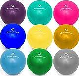 #DoYourFitness Mini Pilates Ball »Balle« 33cm / 23cm / 28cm / 33cm Gymnastikball für Beckenübungen, Stärkung der Bauchmuskulatur und partielle Massage. gelb / 33cm