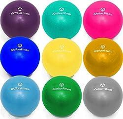 #DoYourFitness Mini Pilates Ball »Balle« 18cm / 23cm / 28cm / 33cm Gymnastikball für Beckenübungen, Stärkung der Bauchmuskulatur und partielle Massage. pink / 23cm