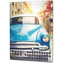 Calendario perpetuo Coches Vintage Vintage Cuba Metal Imantado