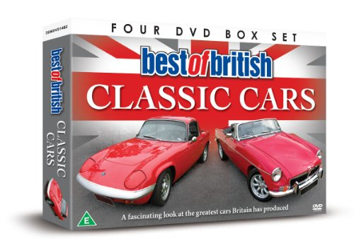Best Of British Classic Cars [DVD] [UK Import]