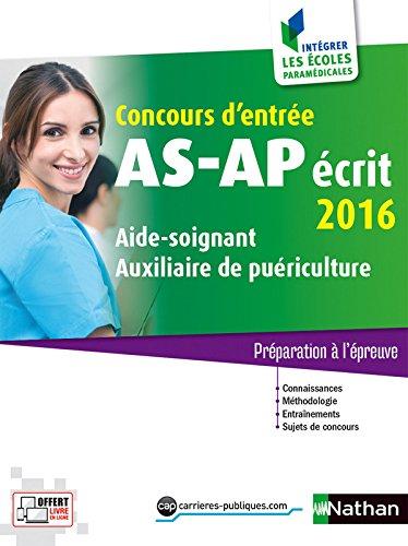 Concours AS/AP crit 2016