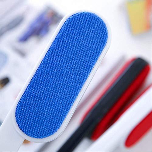 Tierhaarentferner Lint Dust Haarentfernung Trockentuch Reinigungsseitige Bürste Doppel Wollpullover Klebrige Kleidung Staubbürste Gerät Blau