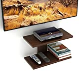 #6: Bluewud Stellar Plus Wall Set Top Box Stand TV Entertainment Unit (Wenge)