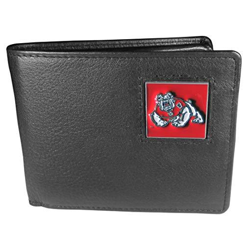 NCAA Leder-Brieftasche, unisex, schwarz