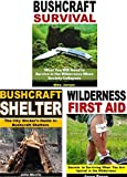 Bushcraft 3-Book Box Set: Bushcraft Shelter, Bushcraft Survival, Wilderness First Aid