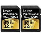 Lexar 32GB Professional 1000x SDHC Class...