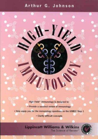 High-Yield Immunology by Arthur G. Johnson (1999-03-15)