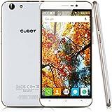 "Cubot Note S - Smartphone 3G Libre Android 5.1 (Quad Core, Pantalla 5.5"", IPS 1280*720 HD, 2GB RAM, 16GB ROM, Cámara 5.0MP, Dual SIM, OTG, GPS, HotKnot) Blanco"
