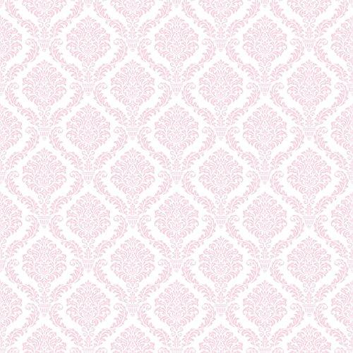 20 Servietten Rose Muster Rosa Kommunion Konfirmation Taufe Hochzeit Elegant 33 x 33cm