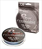 Daiwa Tournament 8 Braid EVO 0.12mm, 8,6kg/18,9lbs 150m multicolour