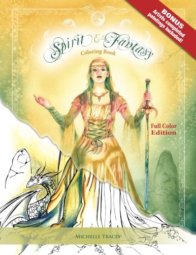 Spirit & Fantasy Coloring Book: Full Color Edition