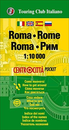 Roma 1:10.000 bolsillo (Centrocittà pocket) por VV.AA.