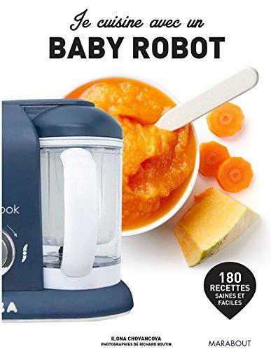 Je cuisine avec un baby robot
