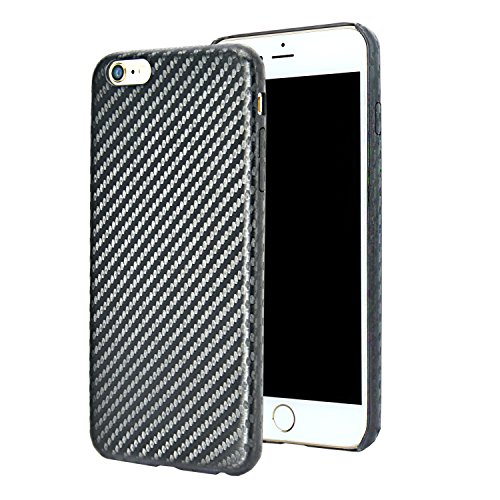 forito-custodia-protettiva-per-iphone-6-plus-6s-da-47-pollici-carbon-fiber-pu-black-6s-plus