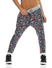 AO Damen Sweatpants Straight Leg Relaxed Fit