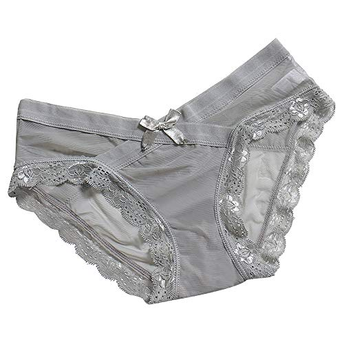 xinhai7682 Damen Strings Thongs, Frauen Sexy Spitze Unterhosen Dessous Tangas Low Taille Panty Höschen Unterwäsche,Spitzenpanty Hipsters Schlüpfer Lingerie Bikinislips Briefs Slip Panties