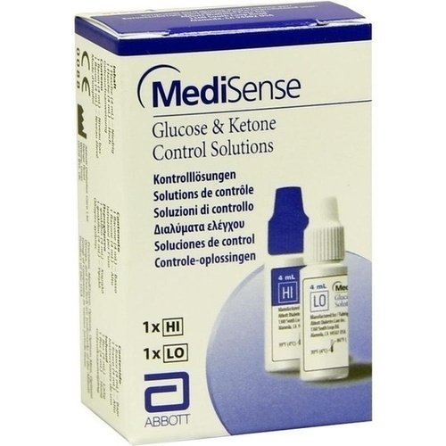 MediSense Glucose & Kentone Kontrolllösungen, 2 Fl