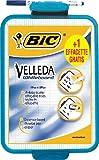 BiC Velleda - Pizarra escolar de doble cara (19 x 26 cm, con rotulador), color blanco