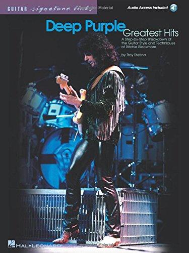 Deep Purple - Greatest Hits  Guitare +CD (Signature Licks)