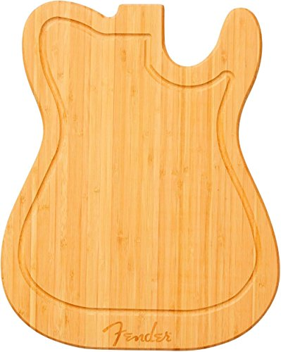 Planche a decouper guitare électrique Fender Telecaster en bambou