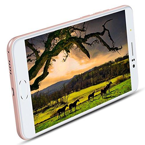 Padgene M98Dual Simfreies, entsperrtes Smartphone, 4G Android- Handy mit Dual 13MP Rückkamera, Entsperren durch Fingerabdruck, 1G RAM + 16G Rom