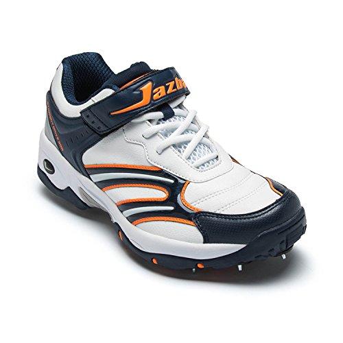 Jazba - Chaussures De Cricket De L'homme, La Couleur Multicolore, Taille 44.5