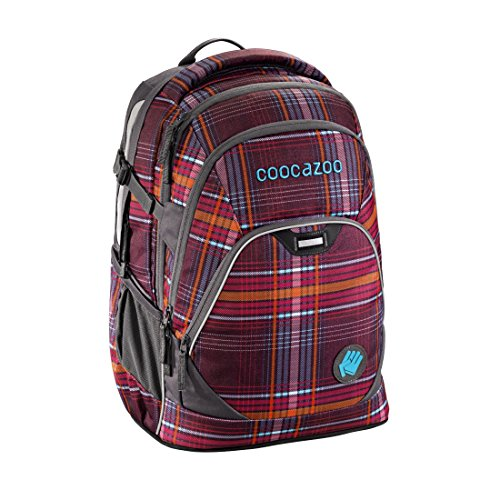 Coocazoo Schulrucksack EvverClevver 2 Walk The Line Purple walk the line purple