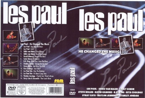 peter west trading & music production e.k. LES PAUL - He Changed the Musc