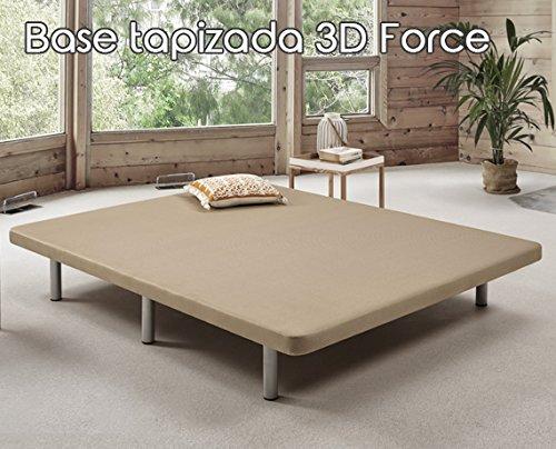Mejor Ahorro Para Base tapizada 3D One de Komfortland Medida 150x190 ...